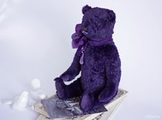Blueberries. Teddy bear by KleKro (Клетчатый Крокодил)