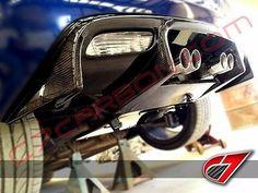 2005-2013 C6 Chevrolet Corvette Rear Diffuser Race Edition | Carbon Fiber | $879