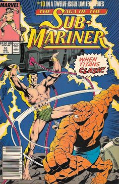 Losses in Battle __script by Roy Thomas and Dann Thomas, pencils by Rich Buckler , Cover art by Rich Buckler , The Story ..recaps Tales to Astonish series & Sub-Mariner 31-46. The Usual Notes on Sourc