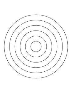 6 Concentric Circles