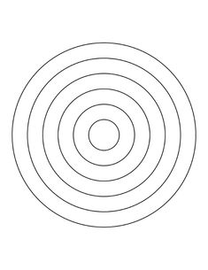 6 Concentric Circles