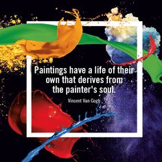 """[Inspiration from #GreatArt]""""Painting have a life of their own that derives from the painter's soul."""" - Vincent Van Gogh#mygreatart #artlovers #artquotes #inspiration #artquoteoftheday"""