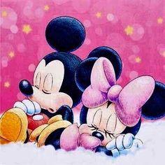 Aww baby mickey and minnie