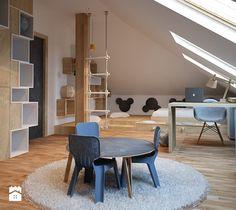 Pokój dla przedszkolaka - Duży pokój dziecka dla chłopca dla malucha, styl nowoczesny - zdjęcie od COI Pracownia Architektury Wnętrz