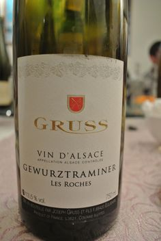 Gruss Gewurz, one of the best I've tried from the region this year.