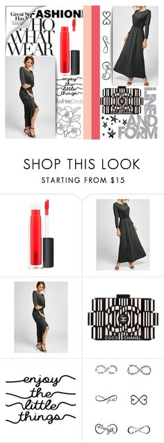 """""""#WhoWhatWear"""" by juromi ❤ liked on Polyvore featuring MAC Cosmetics, Chanel, WALL, Tattify, Who What Wear, trend, women, powerful and twinkledeals"""