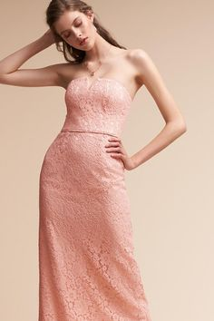 Pearl Pink Winsome Dress   BHLDN