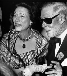 Duchess of Windsor with jewels that Liz owned later