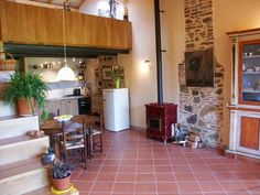 Holiday Home Marilella in Lucca (Tuscany): kitchen/dining area