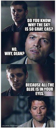 oh Destiel. Supernatural / Dean Winchester / Castiel <<<I'm no shipper but that's adorable Jensen Ackles, Misha Collins, Fanfic Destiel, Destiel Headcanon, Supernatural Fanfiction, Destiel Fanart, Drarry, Johnlock, Decimo Doctor