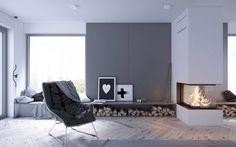 Projekt wnętrz domu w Pszczynie – głogowscy architektura
