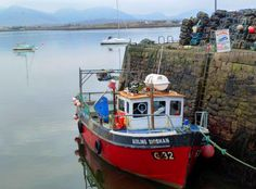Roundstone, Connemara.  The small seaside village was one of the locations for the movie, The Matchmaker [1997]