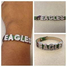 Philadelphia Eagles Football Handmade Bracelet