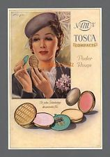 4711 Köln Glockengasse Tosca Compacts Puder Rouge Kosmetik Reklame Werbung 1939