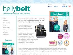 The ultimate maternity wear accessory - turns your clothes into maternity wear. BellyBelt works with skirts, pants, jeans and shorts with buttons and buttonholes, slide or clasp fasteners.
