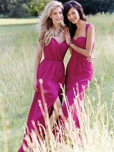 These beautiful Occasions by Jim Hjelm dresses have a deep pink/raspberry shade of colour and are perfect if you're looking for a feminine bridesmaid dress. Product codes JH5462 and JH5464. View more Bridesmaid dresses from our JLM Couture Occasions by Jim Hjelm collection at: http://www.baroqueboutique.co.uk/bridesmaids/ Photographs courtesy of: http://www.jlmcouture.com/Jim-Hjelm-Occasions/