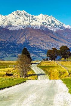 Take a leisurely drive on some back roads (near Queenstown, South Island, New Zealand)