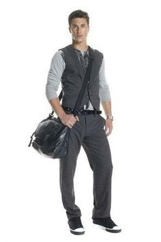 A   X 09 Men's cosmopolitan style Bohemian style winter (Photo) - Men, 09 Winter - Clothing industry