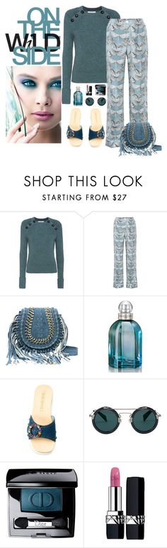 """On The Wild Side"" by butterflykate88 ❤ liked on Polyvore featuring Étoile Isabel Marant, F.R.S For Restless Sleepers, Balenciaga, Marc Jacobs, Yohji Yamamoto, Christian Dior and Kori"