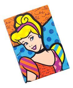 Look at this #zulilyfind! Disney by Britto Cinderella Note Pad by Disney #zulilyfinds