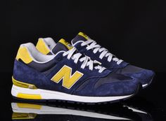 new balance 565 navy yellow