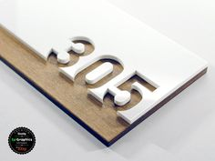 Sign for Hotel Signage made of wood & acrylic, Room Number Sign, Apartment Door Sign. Signage Board, Door Signage, Directional Signage, Wayfinding Signs, Hotel Signage, Office Signage, Retail Signage, Door Number Sign, Door Numbers