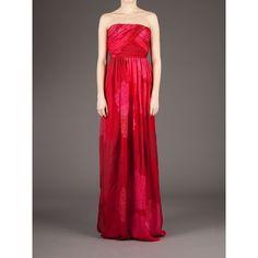Giambattista Valli floral print maxi dress ($3,987) ❤ liked on Polyvore