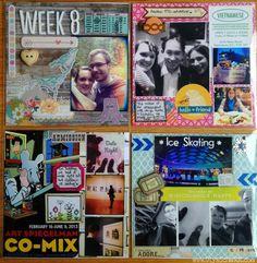 Week 8 Project Life 2013 by Olya Schmidt
