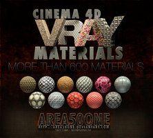 Cinema 4d Vray Materials #3D #design #poster