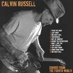 CALVIN RUSSELL - Sounds from the fourth world CD COVER