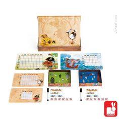 Janod Spel - Zeeslag - Educatief Speelgoed