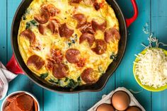 100 easy egg recipes... We're taking eggs way beyond the breakfast table.
