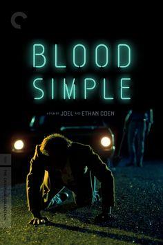 Blood Simple Movie Poster - John Getz, Frances McDormand, Dan Hedaya  #BloodSimple, #JohnGetz, #FrancesMcDormand, #DanHedaya, #JoelCoenEthanCoen, #Thriller, #Art, #Film, #Movie, #Poster