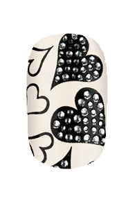 HND 3D Nail Wraps - Think of Me | Hollywood Nail Design £5.50