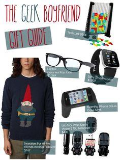 Geek Boyfriend Gift guide