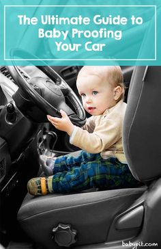 Parents remember to baby proof their homes when a new baby comes but often overlook doing the same for their vehicles. Lets take a look at how you can effectively baby proof  not only the interior of your car but the exterior as well. #babyproof