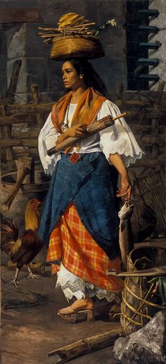 File:Mujer filipina by Lorenzo de la Rocha Icaza - MBACO. Philippines Outfit, Les Philippines, Philippines Fashion, Philippines Culture, Philippine Mythology, Philippine Art, Filipino Art, Filipino Culture, Filipiniana Dress