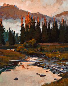 Creekside, by Min Ma