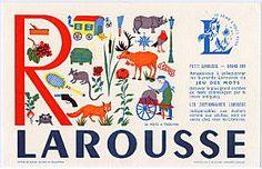 LAROUSSEビュバー(R)/フランスアンティーク雑貨 - ヨーロッパ雑貨プロムナード