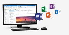 Aplicativos do Office completos e instalados