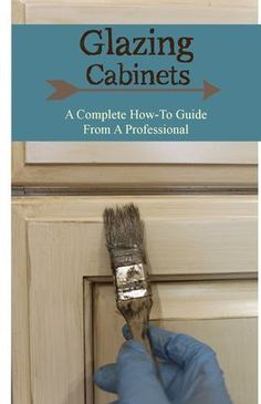 Glazing/ antiquing cabinets. A complete how to guide from a professional. A faux finisher shows you how to glaze cabinets like a pro! Start with your basic white cabinets, or start from scratch with dated wood cabinets. Glaze in any color, on any color! Adds lots of definition to otherwise boring cabinets. Theraggedwren.blo...