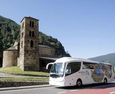Take the bus and discover all the Andorra attractives. #andorra #bus #touristbus #museums #church #andorraworld