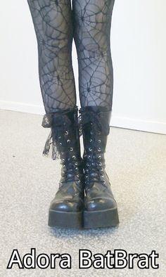 goth girl boots adora batbrat