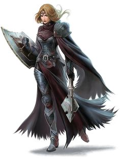 Tagged with art, drawings, fantasy, dungeons and dragons; DnD female clerics, rogues and rangers - inspirational Dungeons And Dragons Art, Dungeons And Dragons Characters, Dnd Characters, Fantasy Characters, Female Characters, Female Armor, Female Knight, Fantasy Inspiration, Character Inspiration