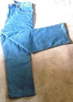 Men Denim Straight Leg Jeans W46 L30 Relax Fit Classic Rise Liberty Blues  #LibertyBlues #Classic #StraightLeg #Denim #Jeans #Menswear #Shopping #eBay