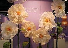 IncaRtesimi: i miei fiori giganti ad Abilmente 2013 - Atelier sposa creativa