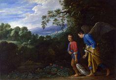 Raphael and Tobias - Archanioł Rafał – Wikipedia, wolna encyklopedia