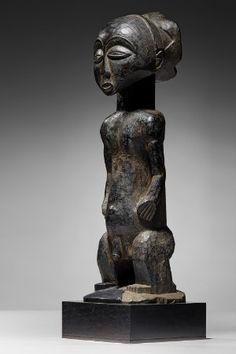 Lot n°87  Hemba Ancestor Figure Congo, Buddha, Auction, Statue, Wood, Art, Lucerne, Art Background, Woodwind Instrument