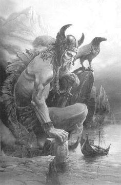 Art Viking, Viking Books, Viking Life, Viking Warrior, Dark Fantasy, Fantasy Art, Viking Facts, Spartan Tattoo, Thor