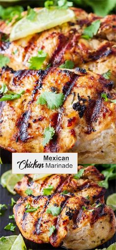 This Mexican chicken marinade is easy to mix up and adds so much flavour to your chicken. Marinate and then grill or bake, or freeze for later! Chicken Marinade Recipes, Mexican Chicken Recipes, Mexican Chicken Seasoning, Marinades For Chicken, Mexican Grilled Chicken, Marinade Sauce, Chicken Tacos, Chicken Curry, Appetizers